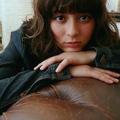 ミディアム ボブ ガーリー 波ウェーブ ヘアスタイルや髪型の写真・画像