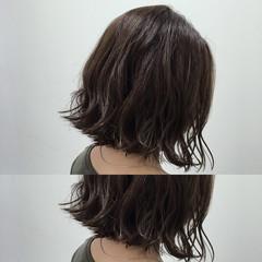色気 暗髪 ボブ 外ハネ ヘアスタイルや髪型の写真・画像