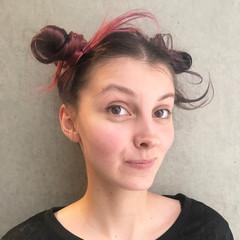 ハイライト こなれ感 ミルクティー 夏 ヘアスタイルや髪型の写真・画像