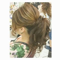 色気 エレガント ヘアアレンジ 上品 ヘアスタイルや髪型の写真・画像
