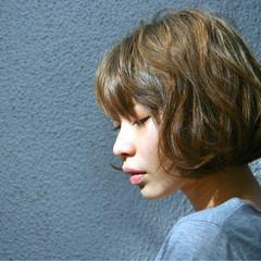 ショート 外国人風  パーマ ヘアスタイルや髪型の写真・画像