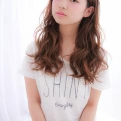 ウェーブ モテ髪 夏 ウェットヘア ヘアスタイルや髪型の写真・画像