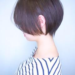 黒髪 簡単ヘアアレンジ ショート 艶髪 ヘアスタイルや髪型の写真・画像