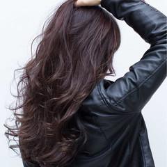 イルミナカラー 謝恩会 ロング バレイヤージュ ヘアスタイルや髪型の写真・画像