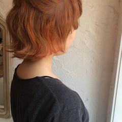 簡単ヘアアレンジ ミディアム かわいい ショート ヘアスタイルや髪型の写真・画像