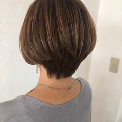 ショートヘア くびれボブ まとまるボブ 似合わせカット ヘアスタイルや髪型の写真・画像