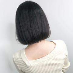 ミニボブ 暗髪 ボブ ショートボブ ヘアスタイルや髪型の写真・画像