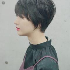 ナチュラル 大人可愛い ショートボブ かわいい ヘアスタイルや髪型の写真・画像