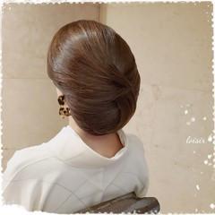 エレガント 和髪 ロング 着物 ヘアスタイルや髪型の写真・画像