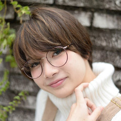 ストリート 大人かわいい アッシュ 外国人風 ヘアスタイルや髪型の写真・画像
