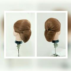 和装 ロング 着物 ヘアアレンジ ヘアスタイルや髪型の写真・画像