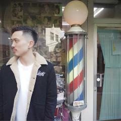 パーマ ショート メンズ ボブ ヘアスタイルや髪型の写真・画像