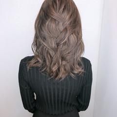 髪質改善カラー セミロング グラデーションカラー 髪質改善トリートメント ヘアスタイルや髪型の写真・画像