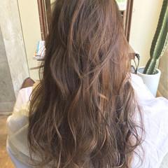 外国人風 アッシュ ハイライト ローライト ヘアスタイルや髪型の写真・画像