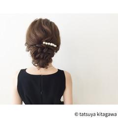 ゆるふわ 花嫁 結婚式 外国人風 ヘアスタイルや髪型の写真・画像