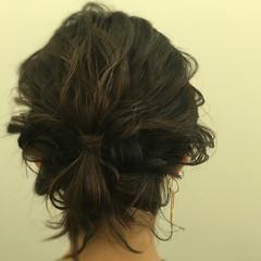 デート ボブ ヘアアレンジ 大人かわいい ヘアスタイルや髪型の写真・画像