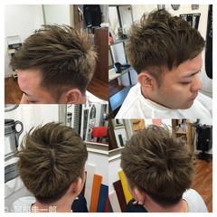 坊主 スモーキーアッシュ ボーイッシュ モテ髪 ヘアスタイルや髪型の写真・画像