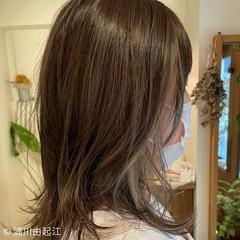 秋 ウルフレイヤー ゆるふわ フェミニン ヘアスタイルや髪型の写真・画像