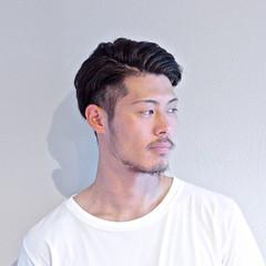 ボーイッシュ メンズ ナチュラル ポマード ヘアスタイルや髪型の写真・画像