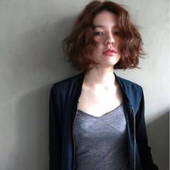 ストリート 外国人風 モード ボブ ヘアスタイルや髪型の写真・画像