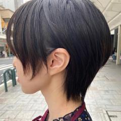 ハンサムショート ショートヘア ショートボブ ミニボブ ヘアスタイルや髪型の写真・画像
