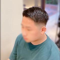 メンズカット フェードカット ショート ストリート ヘアスタイルや髪型の写真・画像
