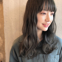 ヘアアレンジ 暗髪 外国人風カラー ナチュラル ヘアスタイルや髪型の写真・画像