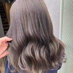 アッシュ ラベンダーアッシュ ナチュラル アッシュグレージュ ヘアスタイルや髪型の写真・画像
