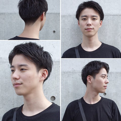 刈り上げ ナチュラル メンズヘア メンズショート ヘアスタイルや髪型の写真・画像