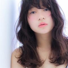 ピュア ナチュラル ゆるふわ フェミニン ヘアスタイルや髪型の写真・画像