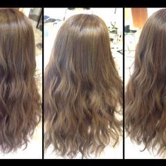 グラデーションカラー 暗髪 外国人風 ロング ヘアスタイルや髪型の写真・画像