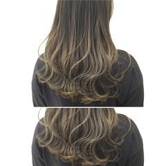 グラデーションカラー ハイトーン ハイライト モード ヘアスタイルや髪型の写真・画像