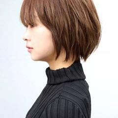 ショートボブ ショートヘア ハンサムショート 小顔ショート ヘアスタイルや髪型の写真・画像