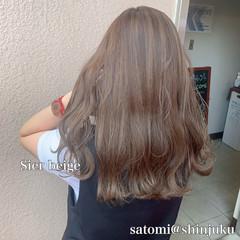 大人かわいい 外国人風カラー ナチュラル ロング ヘアスタイルや髪型の写真・画像