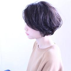 ピュア 暗髪 黒髪 ナチュラル ヘアスタイルや髪型の写真・画像