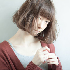色気 ナチュラル 小顔 くせ毛風 ヘアスタイルや髪型の写真・画像