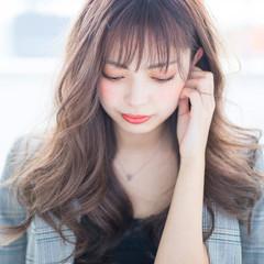 ロング レイヤーカット ヨシンモリ 韓国ヘア ヘアスタイルや髪型の写真・画像
