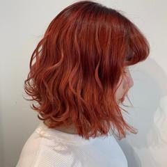 ミニボブ フェミニン 春ヘア ボブ ヘアスタイルや髪型の写真・画像