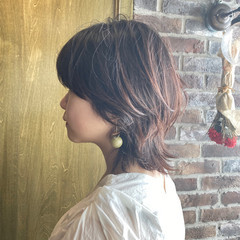 ウルフ女子 マッシュウルフ ショートボブ ウルフカット ヘアスタイルや髪型の写真・画像