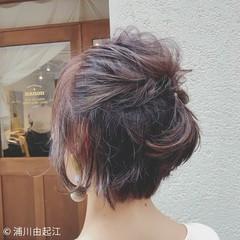 簡単ヘアアレンジ デート 大人かわいい ゆるふわ ヘアスタイルや髪型の写真・画像