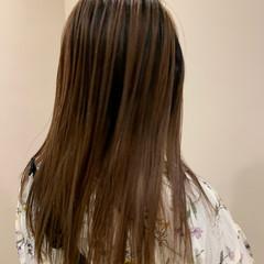 グラデーションカラー 大人可愛い ナチュラル 大人ロング ヘアスタイルや髪型の写真・画像