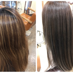 ナチュラル ロング 外国人風カラー ハイライト ヘアスタイルや髪型の写真・画像