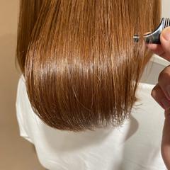 髪質改善トリートメント ハイトーン ツヤ髪 ボブ ヘアスタイルや髪型の写真・画像
