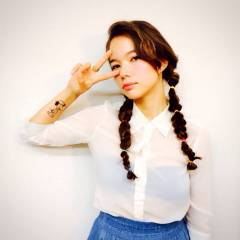 三つ編み ツインテール ヘアアレンジ 外国人風カラー ヘアスタイルや髪型の写真・画像