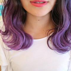 リラックス アウトドア ヘアアレンジ デート ヘアスタイルや髪型の写真・画像