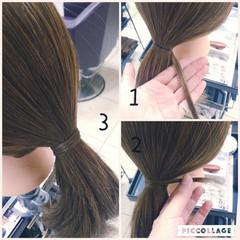 ヘアアレンジ 簡単ヘアアレンジ ポニーテール ショート ヘアスタイルや髪型の写真・画像