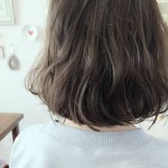ストリート 外国人風 ボブ 秋 ヘアスタイルや髪型の写真・画像