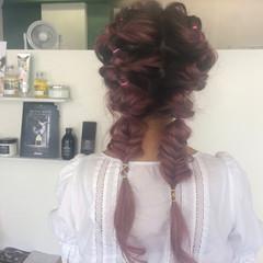 ガーリー 女子会 ショート ダブルカラー ヘアスタイルや髪型の写真・画像