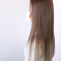 髪質改善トリートメント ロング 髪質改善 コンサバ ヘアスタイルや髪型の写真・画像