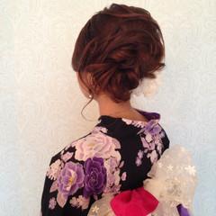 花火大会 ヘアアレンジ 大人かわいい お祭り ヘアスタイルや髪型の写真・画像